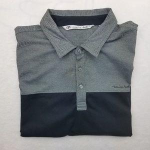 Travis Mathew Golf Polo Shirt XL Cotton Polyester